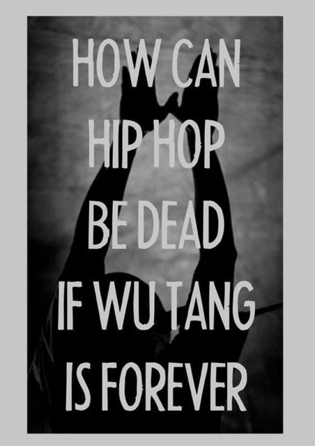 Hip Hop's Not Dead Print