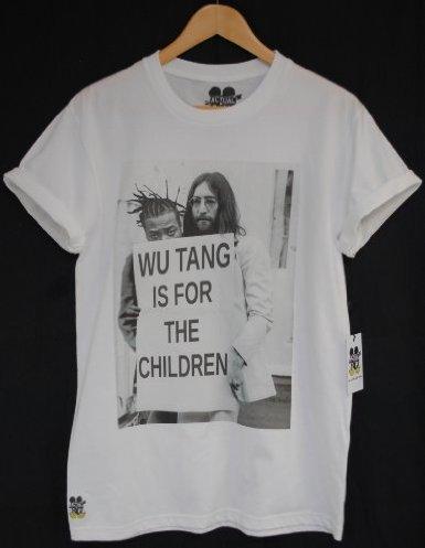 Actual Fact Wu Tang Is For The Children ODB & John Lennon Hip Hop Tee T-Shirt