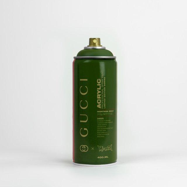 Gucci x Montana Spray Paint Can Print von Big Cartel