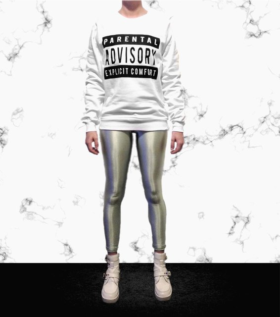 Explicit Comfort Pullover by Hesher x Oculto