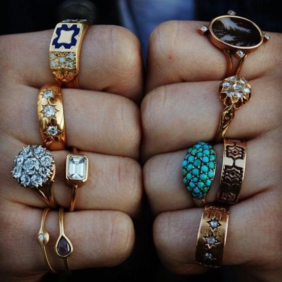 Jewelry: Boho Schmuck, Totenkopf Ringe, Indianer Accessoires