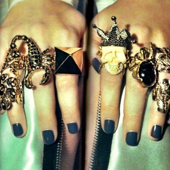 Superlative Skull Rings