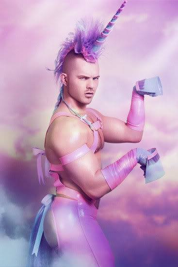 Unicornify yourself for Hamburgs first Vogue-Ball