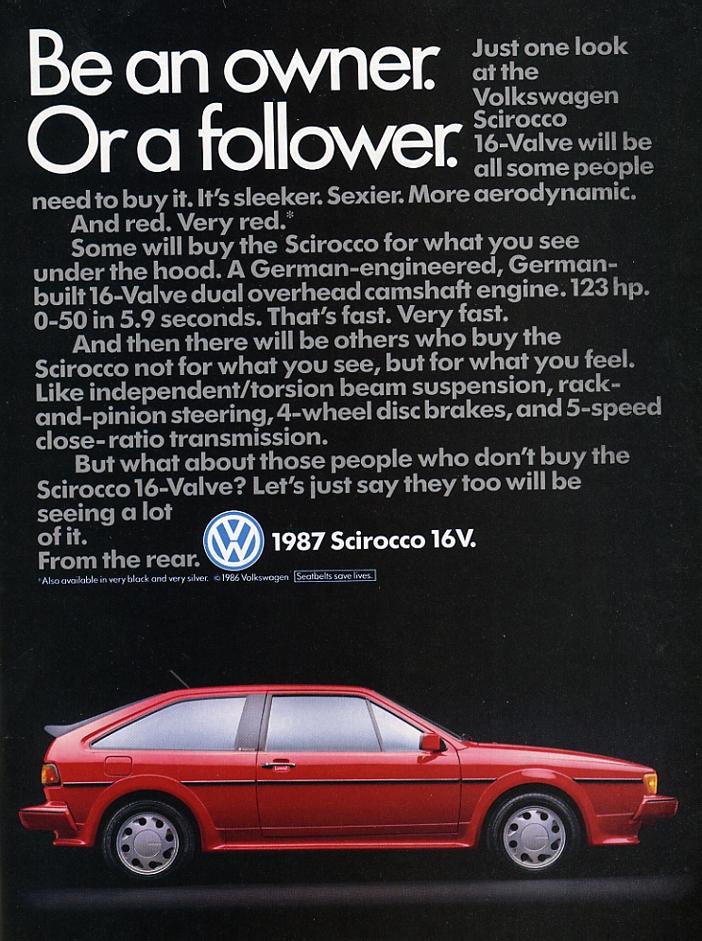 1987 Scirocco 16V