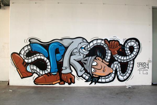 SPRAY, TG Crew, Grafitti Berlin