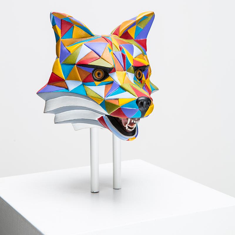 Fuchs Skulptur von Holzweg