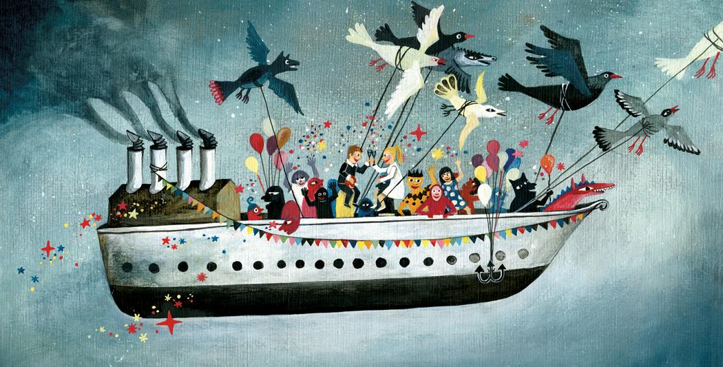 Elsa Klever - Hochzeitsschiff - Illustration