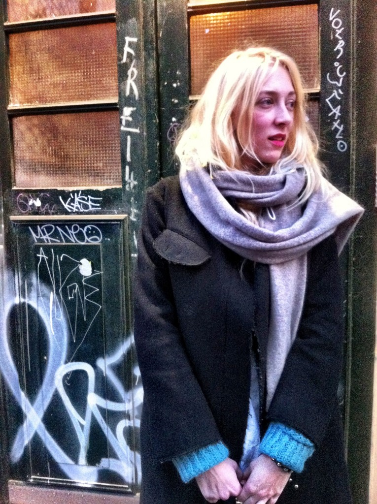 Anne Brenneke, Designerin aus Hamburg. Foto: Nicolette Scharpenberg