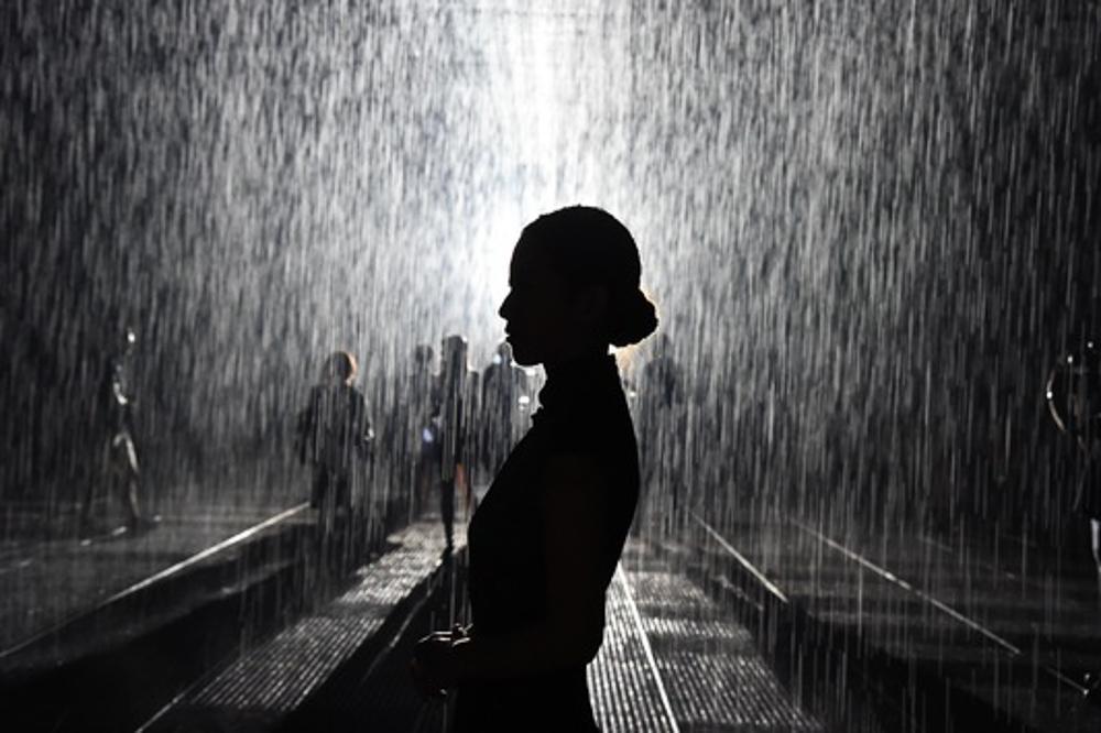 Shanghai Rain Room
